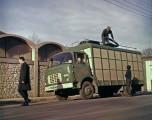 Berliet GAK fourgon tôlé vers 1960