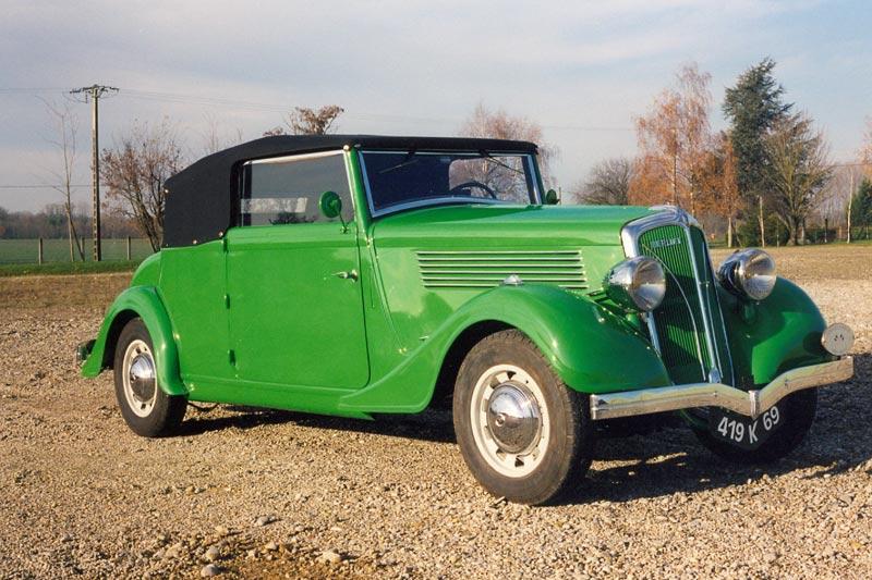 Berliet VIRP11 Cabriolet 1936