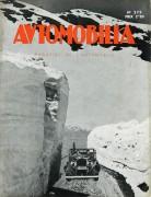 Automobilia neige 1935