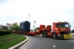 R360 6x4 transports Massot transformateur