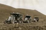Renault 6 roues 1923 défilés rocheux de la Souara