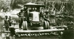 Renault 6 roues 1924 radeau dans le Niger
