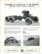 Renault 6 roues pub 1926 page 1