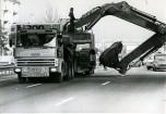 TRH350 6x4 pelleteuse Poclain 1975