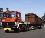 TRH350 6x4 usine Badoit St Galmier 1981