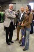 Montellier 2013 :  P.Brossette et M. le Consul d'Allemagne (photo A.Lascoutounax)