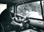 Chauffeur d'un GPRK10 dans les virages