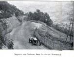Grand prix 1924 voiture en course