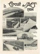 Grand prix 1924 les routes du circuit
