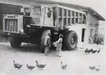T45 dans une cour de ferme