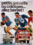 affiche petits gabarits ou colosses - 1968
