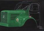 styling Berliet GLR 1960