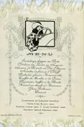 menu Berliet 1914 verso