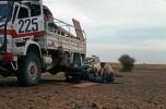 Dakar 1980 TRM4000 pose pneus