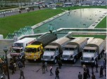 Dakar 1980 camions exposés à Paris