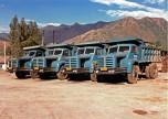 camions Berliet  GLM15 4X2 en Chine 1985