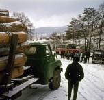 Berliet classe neige vosges 1964 vue 4