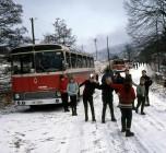 Berliet classe neige vosges 1964 vue 5