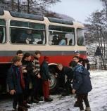 Berliet classe neige vosges 1964 vue 8