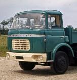 Berliet GAK bleu vert cabine relaxe