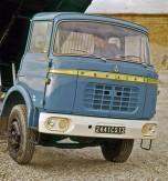 Berliet GBK bleu grisé cabine relaxe