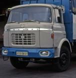 Berliet GBK gris et bleu cabine relaxe