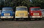Berliet trio coloré de GAK cabines relaxe