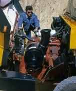 RVI CBH moteur et capot ouvert