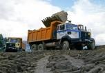 RVI CBH280 chantier boue