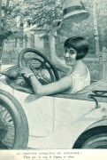 conductrice chapeau 1924