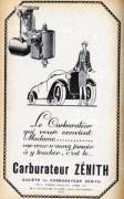 publicité Zénith femme 1926