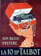 publicité bijou Talbot 1924