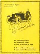 publicité dunlop 1928