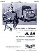 Saviem JL20  pub 1958