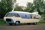 20 Caravane Tour de France base Citroen 55U Charbonneaux 1955