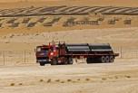 R310 6x4 pipe line Arabie Saoudite vue1