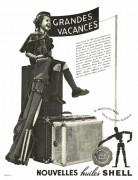 vacances pub huiles Shell 1938