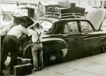 vacances Renault frégate bagages 1951