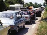 vacances bouchon route 1970