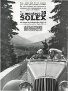 vacances pub Solex 1936