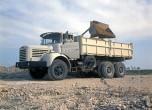 Berliet GBH12 chantier-1972 vue 5