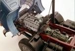 Saviem SM240 moteur