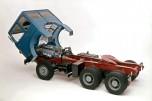 Saviem SM340 6x4 chassis