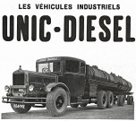Unic 3 essieux citerne à vin 1932