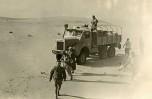 Mauritanie 1958 Berliet GLC8 dans les sables