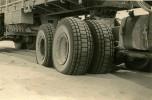 Mauritanie 1958 Berliet GBO15P détail roues arrières