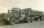 Mauritanie 1958 Berliet GBO15P dans le reg
