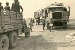 Mauritanie 1958 Berliet GBO15P et camion militaire