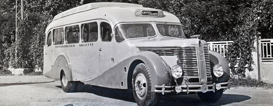 Latil autocar – 1939