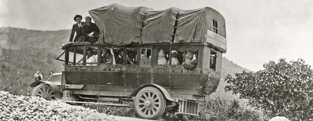 Renault autocar en Algérie – 1912